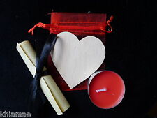 CANDLE LOVE SPELL RITUAL KIT pagan wicca wiccan valentines gift altar