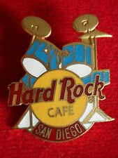 HRC Hard Rock Cafe San Diego Blue Drum Set Yellow Logo