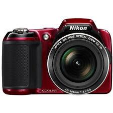 Nikon COOLPIX L810 16.1 MP 3.0-inch LCD Digital Camera - Red