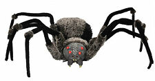 Halloween Lifesize GIANT SPIDER WITH RED LED EYES Haunted House NEW