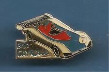 Pin's pin PEUGEOT 905 SPIDER - PILOTE ERIC CAYROLLE (ref 011)
