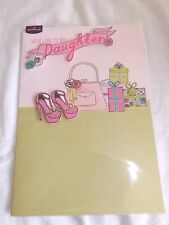 """ DAUGHTER ""... SEALED BIRTHDAY CARD"