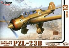 PZL 23 B KARAS WW II BOMBER (POLISH AF MARKINGS) 1/48 MIRAGE RARE