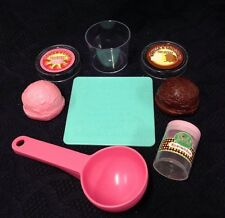 VTG Pretend Play Food For little tikes ICE CREAM Shop Sign SCOOP Lot MTHK MTC ?