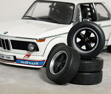 1:18 PORSCHE 911 Turbo 'FUCH' Staggered DEEP-DISH WHEELS SET MODIFIED TUNING VW