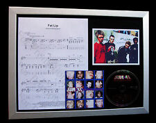 SUM 41 Fat Lip LTD GALLERY QUALITY CD FRAMED DISPLAY+EXPRESS GLOBAL SHIPPING