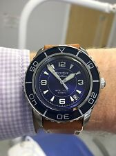 Seiko 5 Automatic SNZH53 Custom FiftyFive Fathoms (FFF)Dial in blue.