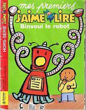 MES PREMIERS J'AIME LIRE sans CD * Binvoui Le Robot * CP * HS 2001