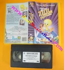 film VHS TITTI TURISTA TUTTOFARE LOONEY TUNES 2001 WARNER PIV 18246(F53*) no dvd