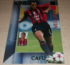 CARD CALCIATORI PANINI 2004/05 MILAN CAFU CALCIO FOOTBALL SOCCER ALBUM