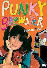 PUNKY BREWSTER: SEASON TWO (Cherie Johnson) - DVD - Region 1 Sealed