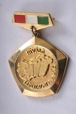 Hungary Hungarian Badge Worthy Excellent Social Worker Medal Civil Service Labor