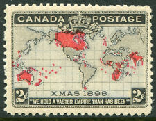 CANADA #85 FVF Never Hinged Issue - Canadian Map - S7972
