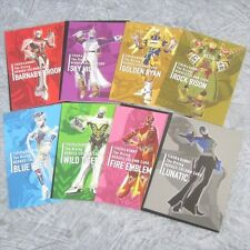 TIGER & BUNNY The Rising Lot of 8 HEROES COLUMN CARD Art Illustration Book Ltd