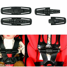 2X BABY CAR SEAT SAFETY CHEST STRAP HARNESS CLIP BUCKLE CHILD TODDLER PRAM SAFE