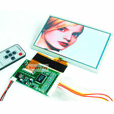 "800x480 40Pin 7"" TFT LCD Module+ Touch Screen Panel + Dual AV / VGA Board"