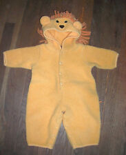 LION HALLOWEEN COSTUME  by FUN STUFF      INFANT 9MO       PRE-OWNED