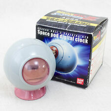 Dragon Ball Z Saiyan Space Pod Digital Clock Bandai JAPAN ANIME MANGA