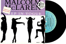 "MICHAEL JACKSON - DEEP IN VOGUE - PROMO 7"" 45 VINYL RECORD PIC SLV 1989"