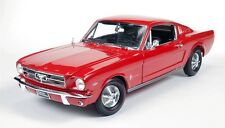 1965 Ford Mustang 2+2 Rangoon RED 1:18 AUTO World 1000
