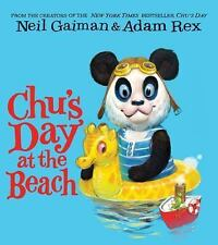 Chu's Day at the Beach Board Book by Neil Gaiman (2016, Board Book)