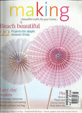 MAKING, BEAUTIFUL CRAFTS FOR YOUR HOME,  AUGUST, 2012 ( BEACH BEAUTIFUL )