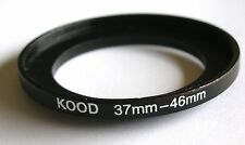 STEP UP ADAPTER 37MM-46MM STEPPING RING 37 TO 46MM 37-46 STEP UP RING