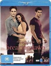 The Twilight Saga - Breaking Dawn : Part 1 blu- ray DVD.
