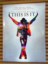 MICHAEL JACKSON This Is It Promo Poster [2009] *Official Hong Kong