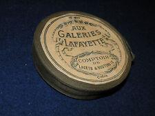 Rouleau de ruban galon ancien à chapeau Galeries Lafayette