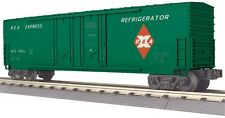 MTH 30-74772, O Scale, 50' Double Door Plugged Boxcar REA Railway Express Agency