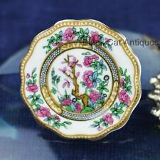Original Vintage Coalport China India Tree Brooch/Broach/Pin Made In England