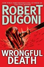 WRONGFUL DEATH by Robert Dugoni (2009, Hardcover)..THRILLER...LIKE NEW