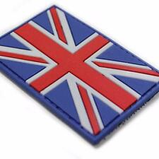 Union Jack Flag Red White And Blue GBR PVC Airsoft Paintball Patch