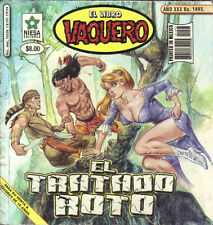 *EL LIBRO VAQUERO*  EL TRATADO ROTO - MEXICAN COMIC ~ SEXY ~ #1493