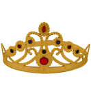 Jewelled Queens Crown in Gold