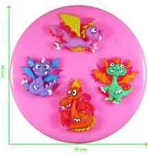Little Magic Dragon Silicone Mould by Fairie Blessings