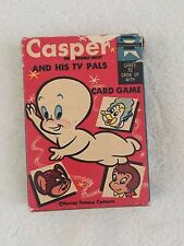 Vintage Casper the Friendly Ghost and His TV Pals Playing Card Game Ed U Cards