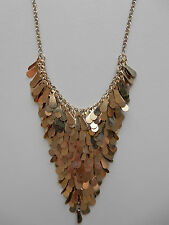 GOLD CHAIN SEQUIN LAYER NECKLACE - $5 - BRAND NEW!