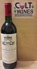 RP 96 pts! 1990 Chateau Leoville Las Cases St. Julien Bordeaux wine. Listing 1/5
