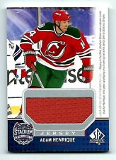 Adam Henrique New Jersey Devils 2014-15 SP Authentic Stadium Series Patch Card