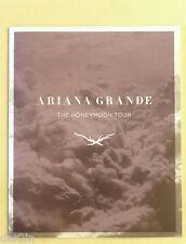 NEW ARIANA GRANDE 2015 HONEYMOON TOUR PROGRAMME MUSIC CONCERT SOUVENIR BROCHURE