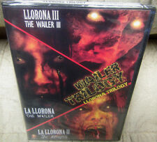 Wailer Trilogy La Llorona trilogy NEW DVD *3 Movies. Horror The Wailer 1 / 2 / 3