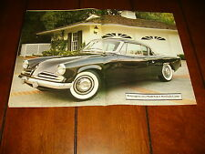 1953 STUDEBAKER STARLIGHT COUPE ***ORIGINAL VINTAGE 1986 ARTICLE***