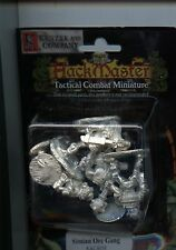 Hackmaster Tactical Combat Simian Orcs Gang (4) MINT