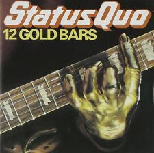 Status Quo 12 Gold Bars CD NEW SEALED Rockin' All Over The World/Caroline/Rain+