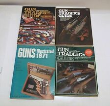 GUN TRADERS GUIDES/GUNS ILLUSTRATED PB/1971 - 2004  PAUL WAHL Fire Arms Books- T