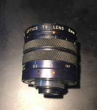 TOYO OPTICS 8MM F1.3 TV LENS C MOUNT