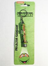 TMNT Teenage Mutant Ninja Turtles Michelangelo - Projector Flashlight Keychain