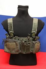 Tactical army military Russian MBC D3CR-H lightweight chest rig dark olive